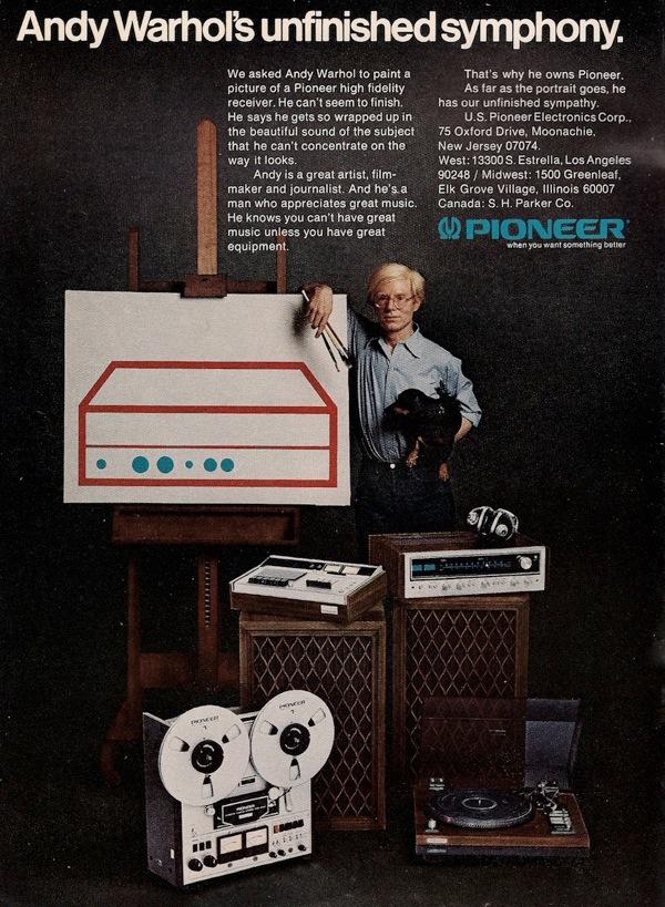 Warhol pioneer