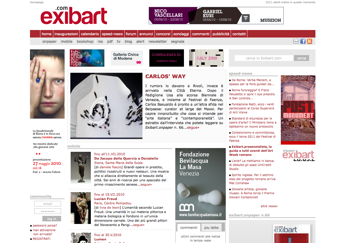 1999-2009 / Exibart.com