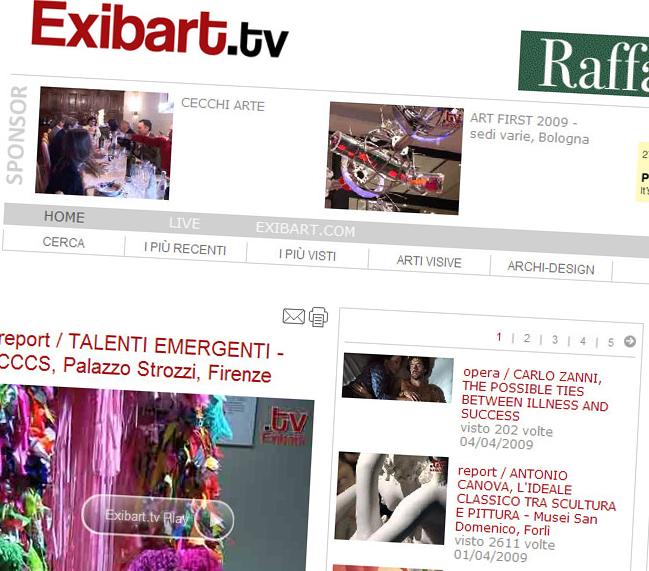 2007-2009 / Exibart.tv
