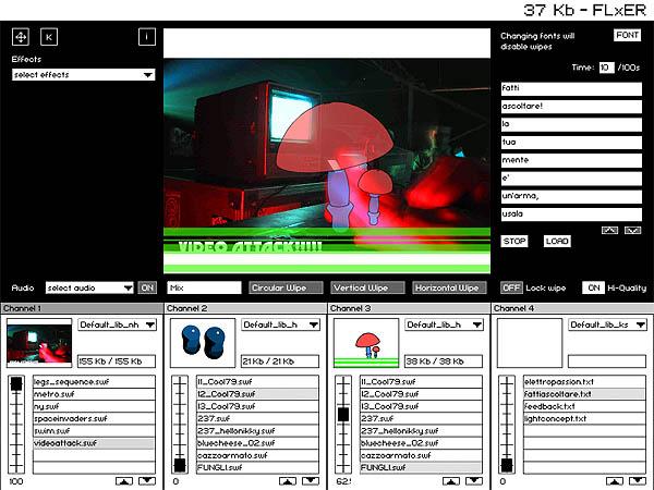 2002 / Artintotheweb 1.0 – NOTTE OFF