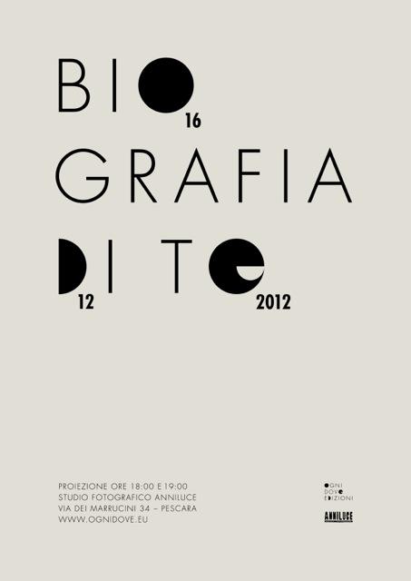 2012 / Biografia di te