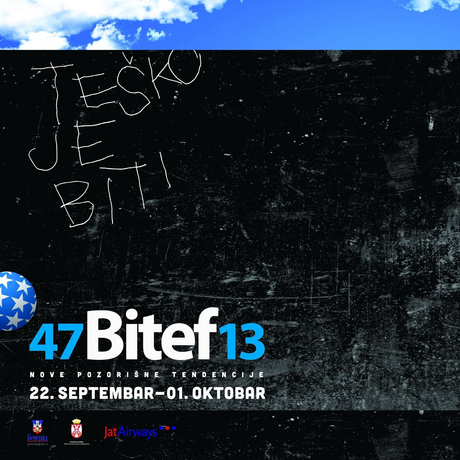 2013 / Bitef, Belgrado