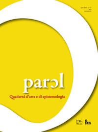 2012 // Parɔl n°22. Quaderni d'arte e di epistemologia