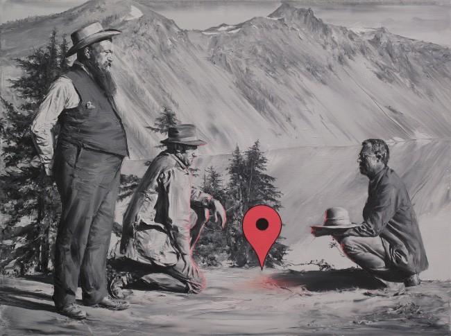 Los-ubicacionistas-Óleo-sobre-lienzo.-60-x-80-cms.-2016