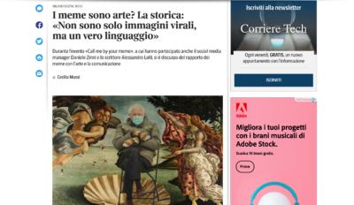 2021 / Corriere della Sera